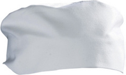 Picture of White Chef Skull Cap