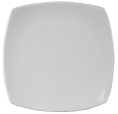"Picture of Royal Porcelain Titan Square Plate 9.5"" (24cm)"