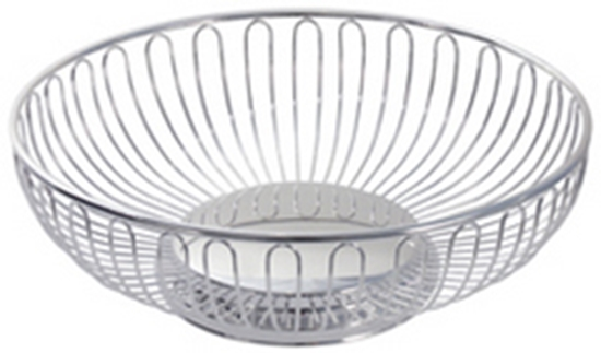"Picture of 17cm (6.5"") S/S Round Basket"