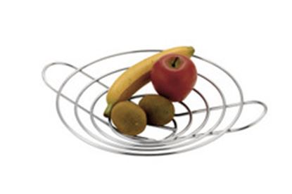 Picture of Chrome Flat Fruit Basket
