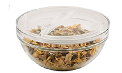 """Picture of Hinged Lids For 9"""" (23cm) Bowls"""
