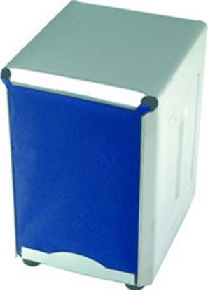 "Picture of Steel Napkin Dispensers 3.7x5.1x4.3"" (9.5x13x11cm)"