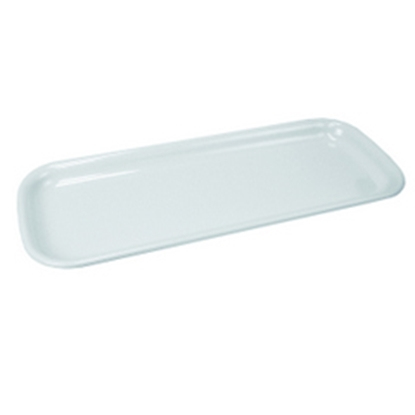 "Picture of White Rectangular Platter 20.9x8.3"" (53x21cm)"