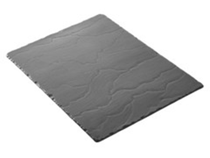 "Picture of Revol Rectangular Slate Plate 11.8x6.3"" (30x16cm)"