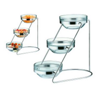 "Picture of 3 Tier S/S  Display For 20cm (8"") Bowls"