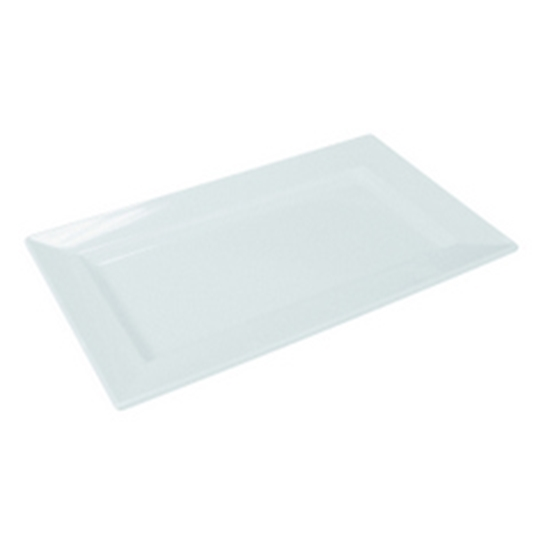 "Picture of White Dover Rectangular Tray 13.8x8.3x1"" (35x21x2.5cm)"