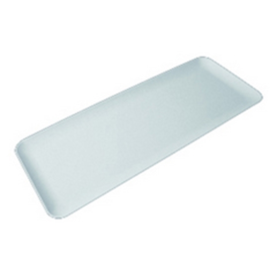 """Picture of White SAN Long Tray 23x8.9"""" (58.5x22.5cm)"""