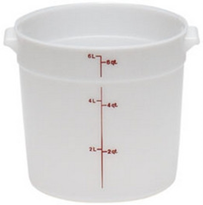 Picture of Round Polypropylene Storage Container 5.7Lit