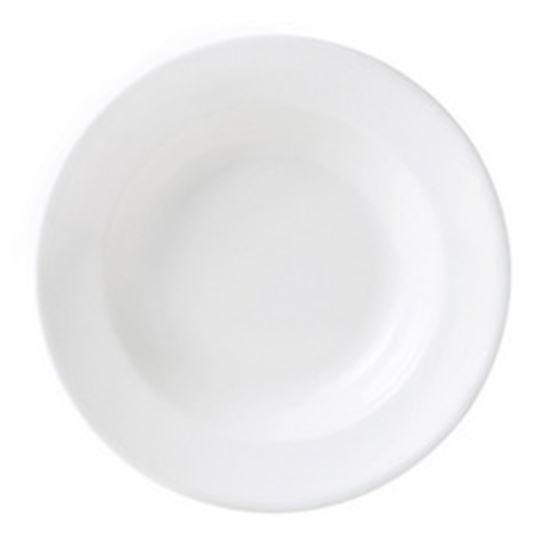 """Picture of Steelite Monaco 24cm (9.5"""") Soup/Pasta Plate"""