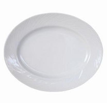 "Picture of Steelite Spyro Oval Plate 11"" (28cm)"
