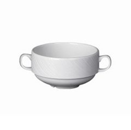 Picture of Steelite Spyro Handled Soup Cup 28.5cl (10oz)