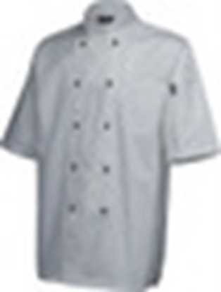 Picture of White Short Sleeve Superior Jacket Small