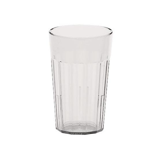 Clear Polycarb&Plastic Tall Glass