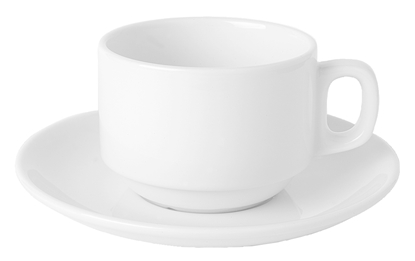 White Porcelain Stacking Cup