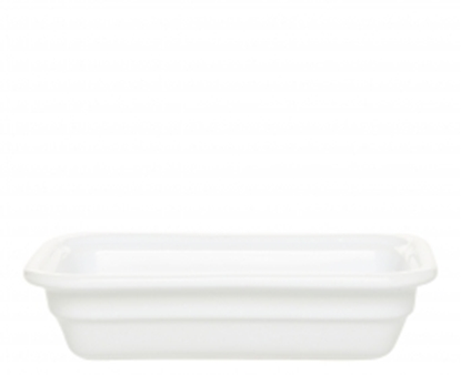 Picture of White Gastronorm Dish 1/2