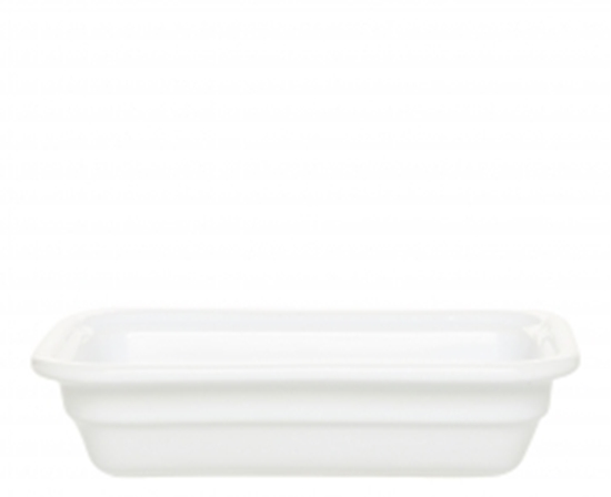Picture of White Gastronorm Dish 1/4