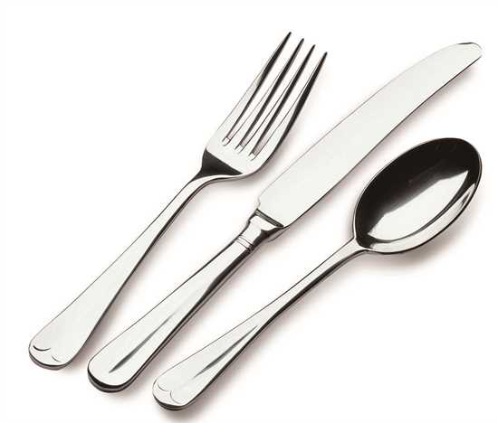 Picture of Rattail Dessert Forks