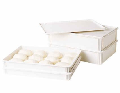 "Picture of White Polycarb Dough Box 18.1x26x5.9"" (46x66x15cm)"