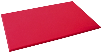 """Picture of Red High Density Chopping Board 24x18x.8"""" (61x45.7x20.3cm)"""
