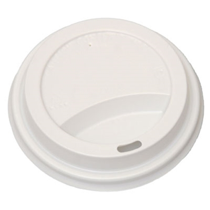 Picture of 8oz White Paper Cup Travel lid (Box/1000)
