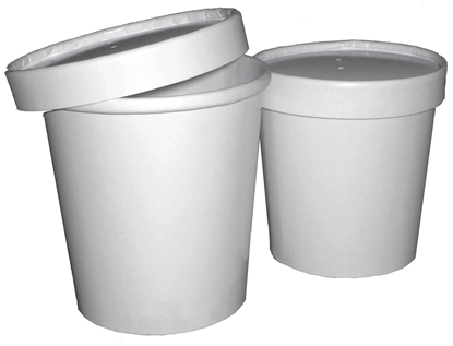 Picture of White Soup Cont. & Lid 35.5cl (12oz)
