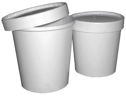 Picture of White Soup Cont. & Lid 47.3cl (16oz)