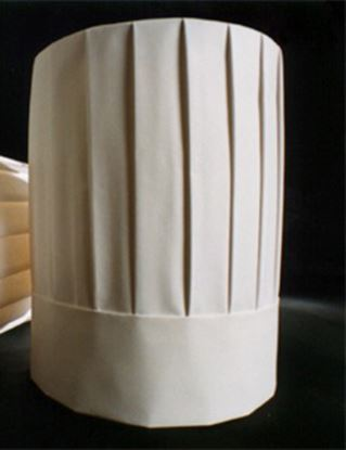 Picture of 18cm Disposable Chefs High Hat (Box/50)