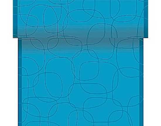 Picture of Duni  40cm x 24m Pacific Blue Dunicel Tete-A-Tete (CTN/4)