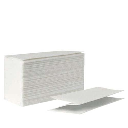 Picture of White 2 Ply 100 Sheet C Fold Towels