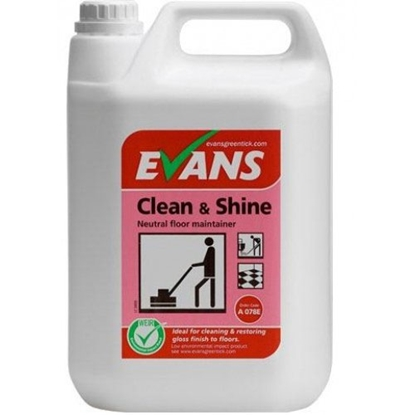 Picture of Evans Clean & Shine Neutral Floor Maintainer 5L
