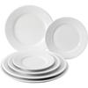 26cm apollo round white plate