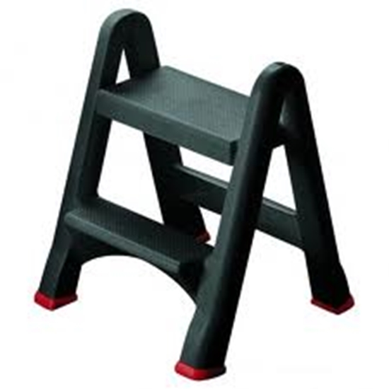 """Picture of Rubbermaid Foldable Step Stool 19.3x6.7x24.8"""" (49x17x63cm)"""