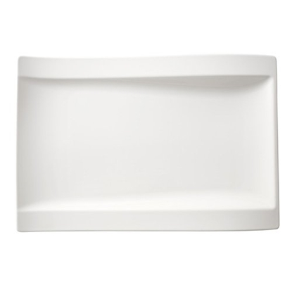 """Picture of Villeroy & Boch New Wave Gourmet Plate 14.6x9.8"""" (37x25cm)"""