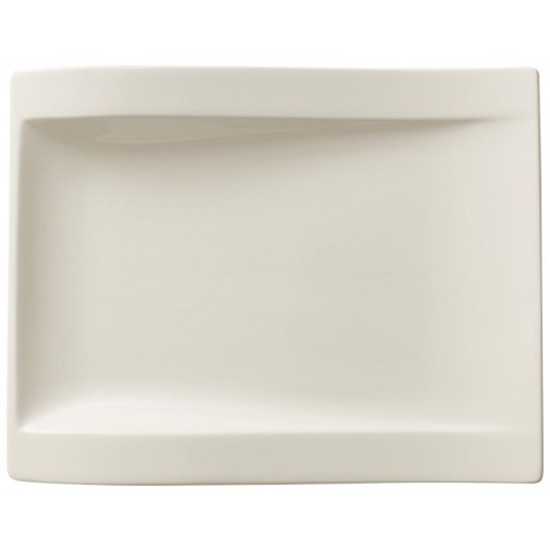 """Picture of Villeroy & Boch New Wave Flat Plate 7.1x5.9"""" (18x15cm)"""