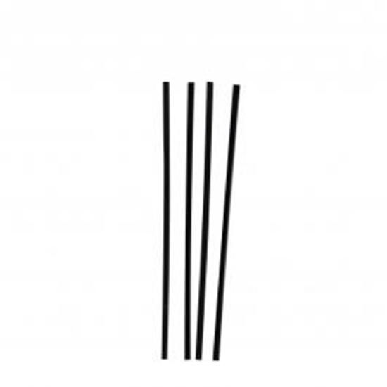 "Picture of Memphis Sip Straws Black  5"" (12.7cm)"