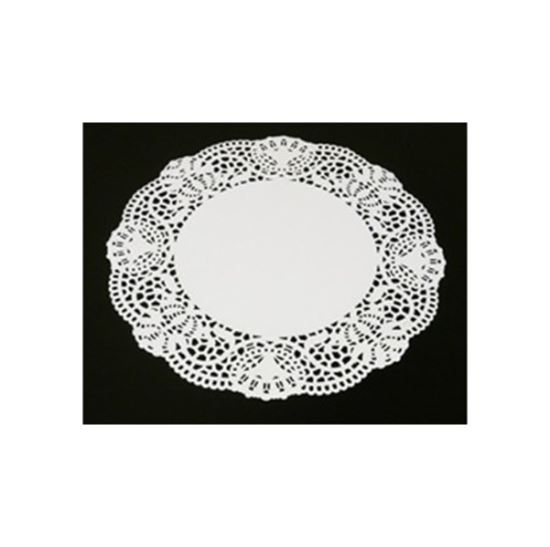 Picture of Duni  White Doilies 30cm (CTN 1000)