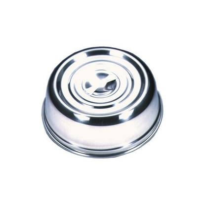 "Picture of Round Stainless Steel Plate Cover 9.8"" (25cm)"