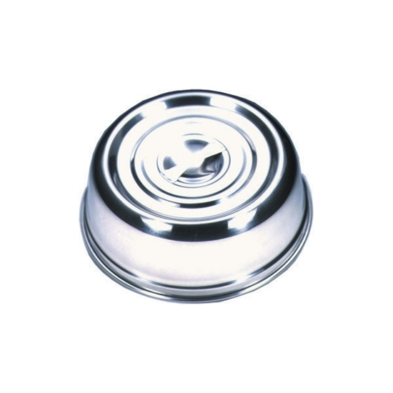 """Picture of Round Stainless Steel Plate Cover 9.8"""" (25cm)"""