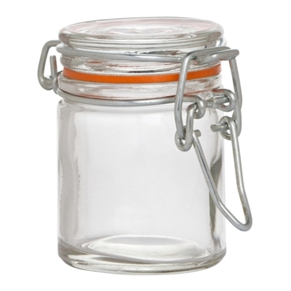 Hugh Jordan Glass Preserve Jar