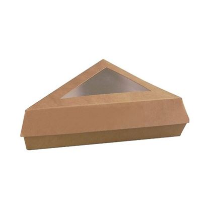 Picture of Kraft Triangular Boxes 17cm
