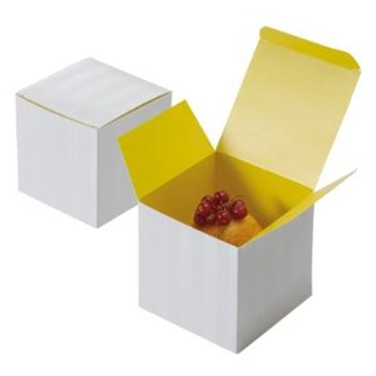 Picture of Single Cupcake Yellow Box