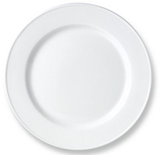 White Steelite Simplicity Plate