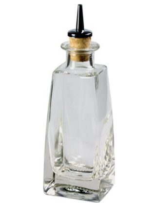 Picture of Square Glass Dash Bottle 20cl (7oz)