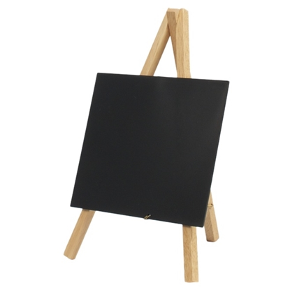 "Picture of Mini Chalkboard Easels 9.8x4.5"" (25x11.5cm)"