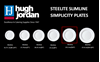 Hugh Jordan Steelite Porcelain Slimline Plate