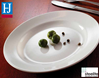 """Picture of Steelite Oval Coupe Plate 13.5"""" (34.25cm)"""