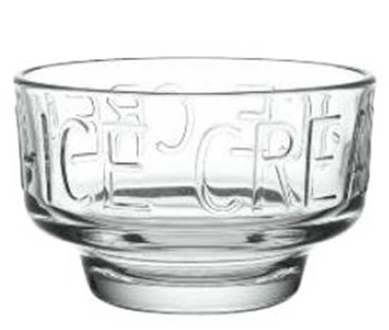 Picture of Glass Ice Cream Bowl