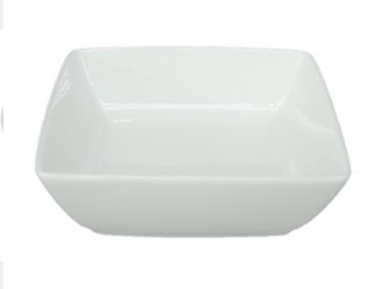 """Picture of Royal Porcelain Titan Square Deep Bowl 4.5"""" (11.5cm)"""