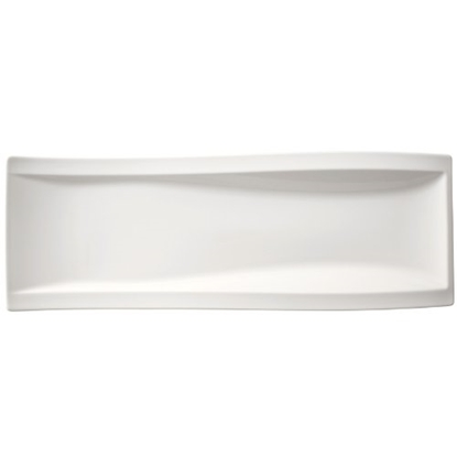 "Picture of Villeroy & Boch New Wave Flat Plate 16.5x5.9"" (42x15cm)"