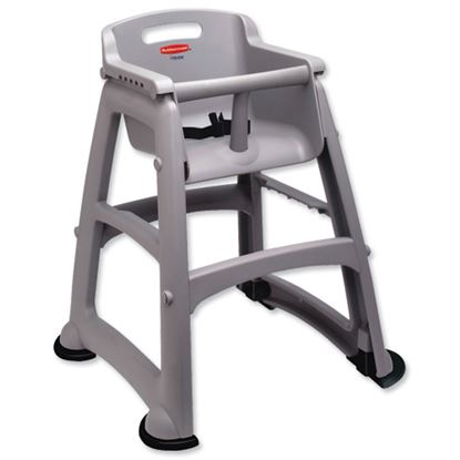 Picture of Rubbermaid  Grey Sturdy High Chair